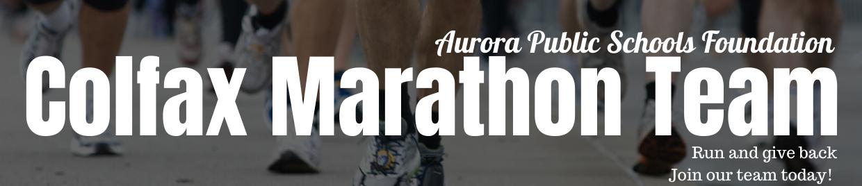 Colfax Marathon team