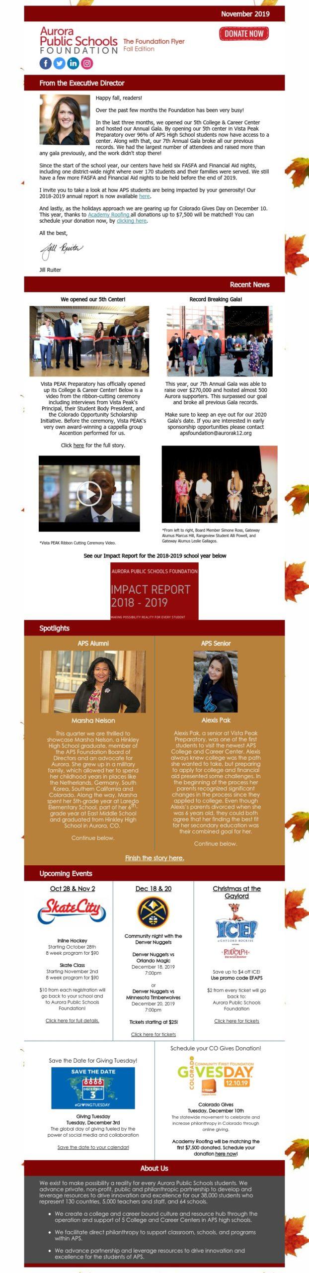 October Foundation Flyer